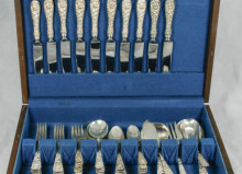 Antique Stieff Sterling Silver Flatware