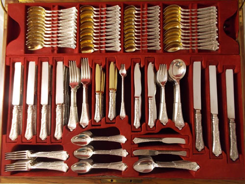 Antique Tiffany Flatware Set