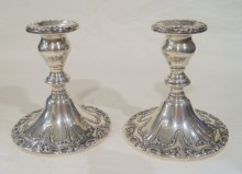 antique gorham candlesticks