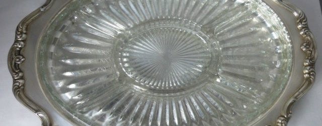 heritage silver tray
