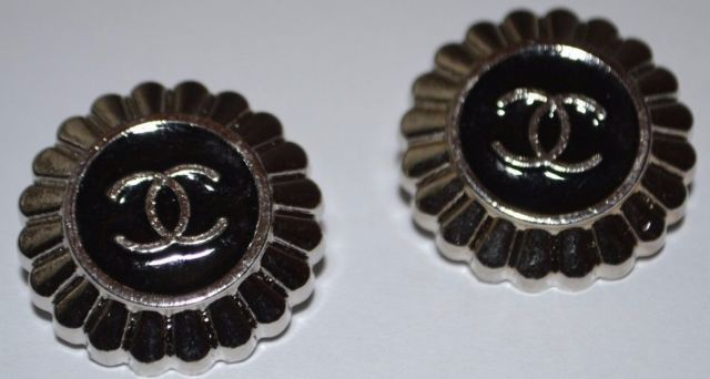 vintage silver buttons