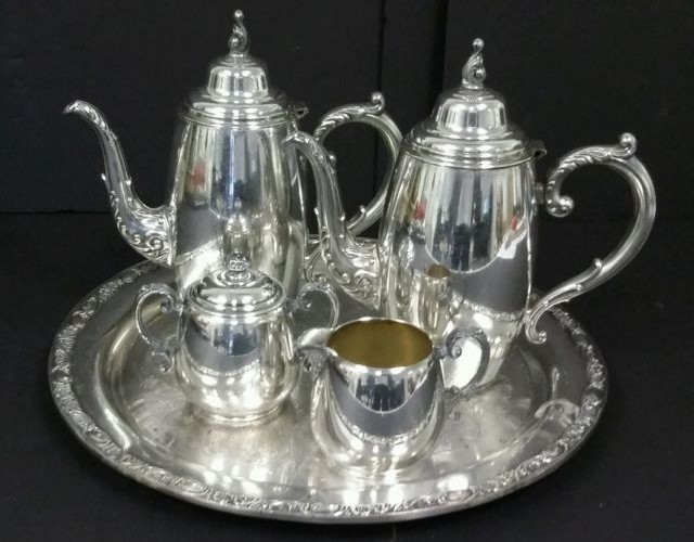 Vintage Silver Tea Set | Vintage Silver Collecting
