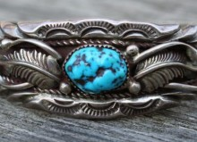 vintage silver turquoise