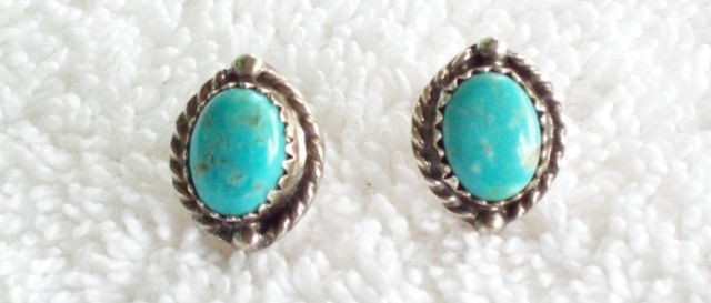vintage sterling silver earrings