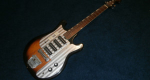 Vintage 1960's Silvertone WG-4L Electric Guitar