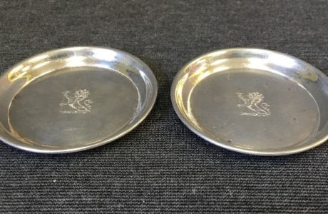 Antique Sterling Silver Coaster Sets
