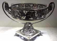 German Silver Art Nouveau Centerpiece